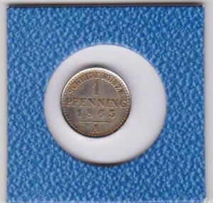 1-Pfennig-Preussen-1865-A-Probe-aus-Nickel-magnetisch-Prussia