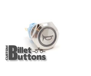 LINE LOCK Laser Etched Billet Push Buttons 12V LED Car Motorcycle Racing