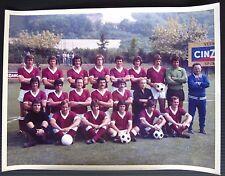 1974/75 TORINO Calcio rosa ritiro estivo foto colori originale d'epoca 18x24 cm