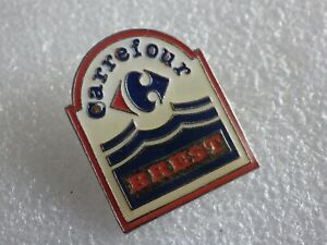 Pin-039-s-Vintage-Collector-Pins-Collection-Adv-Carrefour-Brest-Lot-PO118