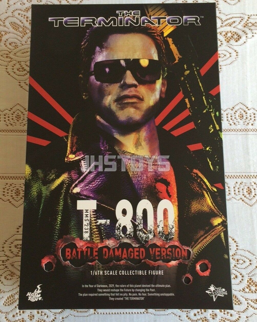 Hot Toys 16 el terminador T-800 Battle Damaged versión T800 MMS238