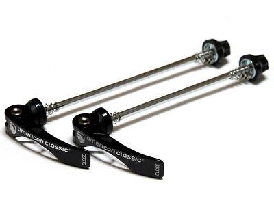 AMERICAN Classic Road MTB Bike QR Hub Quick Release Skewers 100//130mm