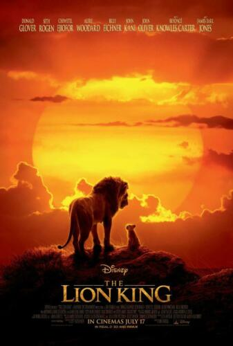 The Lion King Movie Poster Print Wall Photo 8x10 11x17 16x20 22x28 24x36 27x40