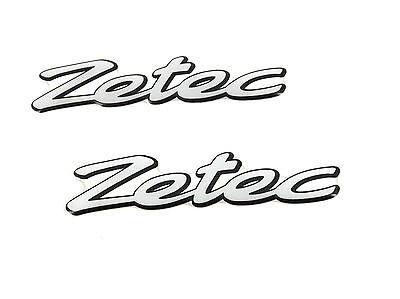 Genuine New FORD ZETEC WING GEL BADGE Emblem For Fiesta MK4 IV 1995-1999 16V