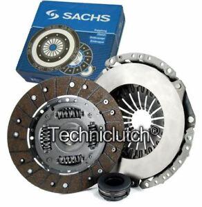 Sachs-3-PART-embrayage-KIT-pour-Audi-80-Saloon-2-0-E-16-V