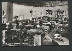 """EGG / Deggendorf << Schloss Egg,Burgstall, Restaurant """"Alte Remise"""" > s/w AK kl"""