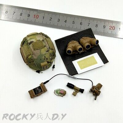 """1//6 Scale Easy/&Simple ES 26020 CAG G17 Gun /& Holder Set for 12/"""" Action Figure"""