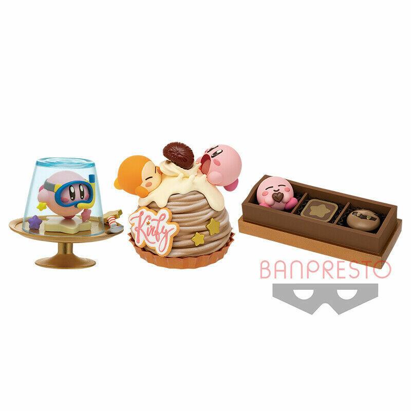 Image 1 - Hoshi no Kirby Paldolce collection vol.3 Mini figure set of 3 Japan Banpresto