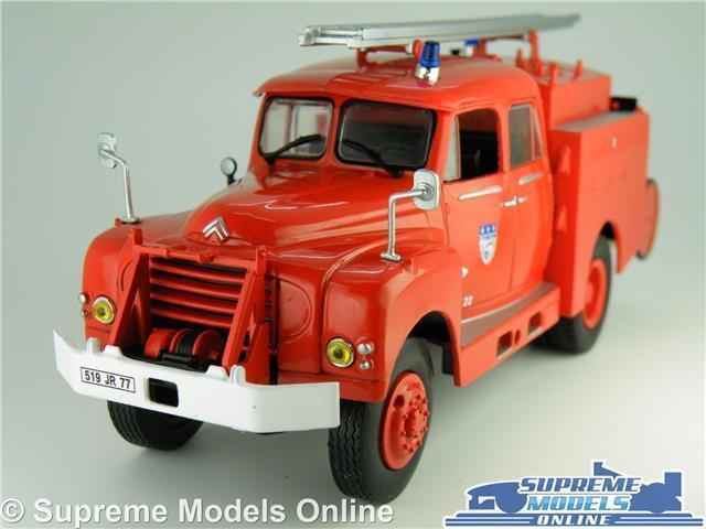 CITROEN 46 CD FIRE ENGINE MODEL DROUVILLE FRANCE DEPARTMENT 1 43 SCALE IXO K8
