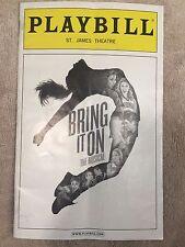 Bring It On Playbill (OBC) - Taylor Louderman - Lin-Manuel Miranda