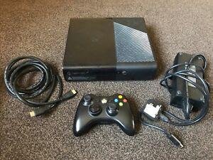 XBOX-360-E-Console-Black-250-GB-Complete-FREE-P-P