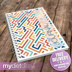 WEIGHT-LOSS-DIARY-Maze-G030W-12wk-slimming-diet-tracker-diary-weight-loss