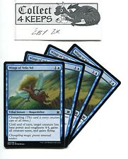 Magic MTG Modern Masters 2015: 4x Wings of Velis Vel x4 Blue Playset Unplayed