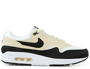 Details about Nike Air Max 1 Women's ® (UK Sizes: 4 / 5 / 6) Sail / Black /  Fossil Latest NEW