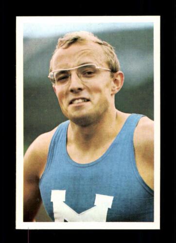 Gerd Metz Athlétisme Bergmann Sammelbild Sportbild 1968 Nº A 221