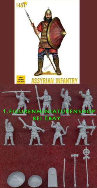 1:72 FIGUREN 8092 Assyrian Infantry - HÄT