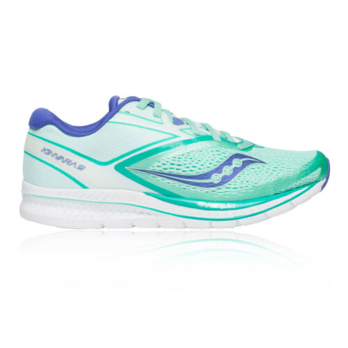 Saucony Womens Kinvara 9 Running Shoes Trainers Sneakers Blue White Sports
