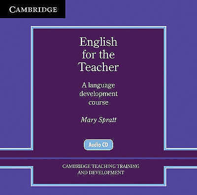 Cambridge Teacher Training and Development. English for the Teacher Audio CDs (2