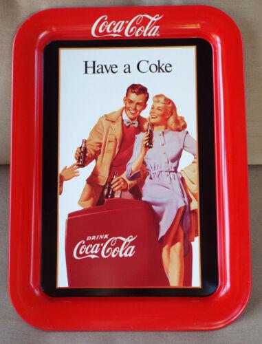 1991 Coca-Cola Petty/'s Foods Tulsa OK 50th Anniv Coke Trays-NOS CASE of SIX!!