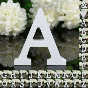 Details About Freestanding Large 26 Wooden Wood Alphabet Letters Wall Hanging Nursery Decor