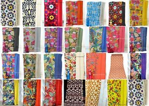 Indian-Handmade-doble-tamano-cubierta-de-cama-de-algodon-Manta-VINTAGE-KANTHA-QUILT-tiro
