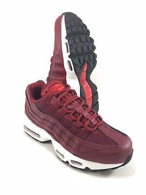 Nike Air Max 95 Running Shoes Red Burgundy Maroon Womens Size 7.5 307960 605 eBay  eBay