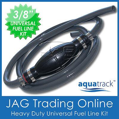 "3//8/"" UNIVERSAL OUTBOARD FUEL LINE /& BULB 10mm ID UV Stabilised Boat//Marine Hose"