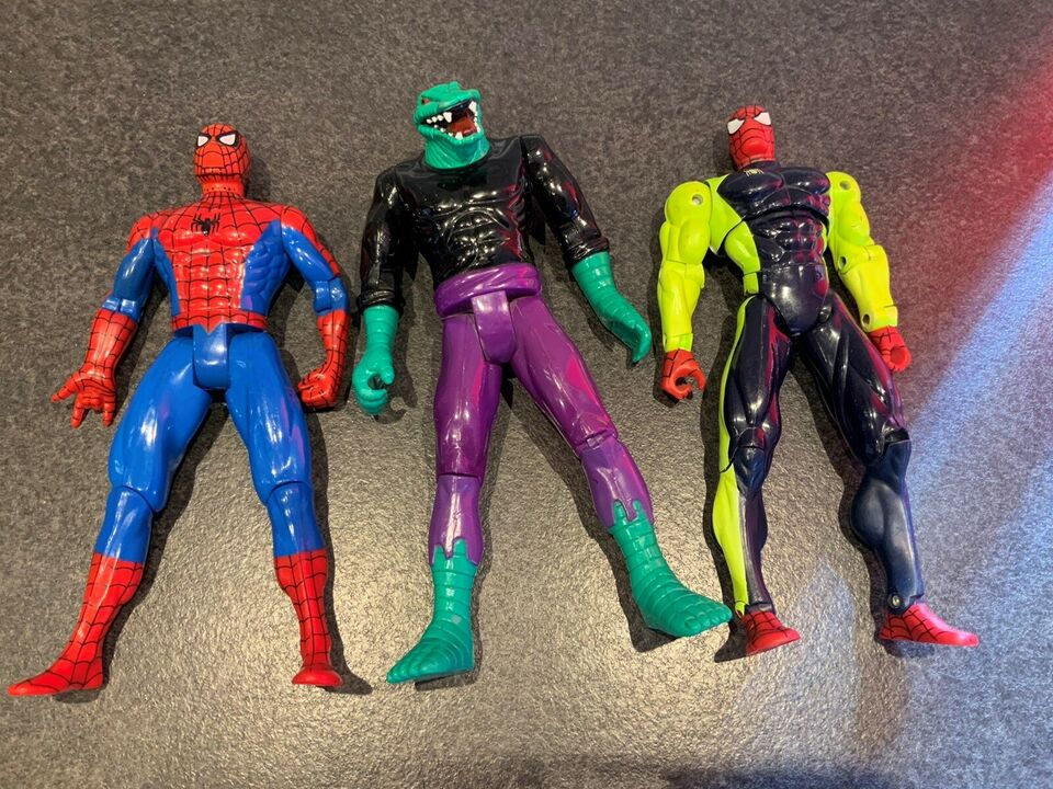Store spiderman figurer, Marvel