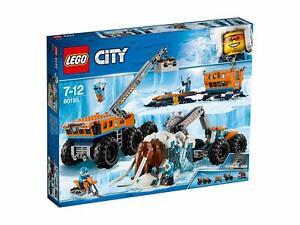 LEGO-City-Arctic-mobile-d-039-exploration-de-vehicule-de-base-Grue-Remorque-Mammouth-Laineux