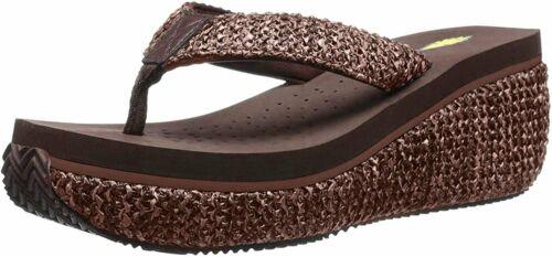 Volatile Women/'s Island Wedge Sandal