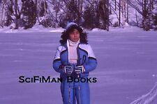 KODACHROME 35mm Slide Canada Pretty Sexy Girl Woman Cross Country Skiing 1979!!!