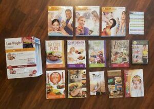 Food Lovers Fat Loss System Set DVD Cookbooks Provida Diet Exercise Videos GUC eBay