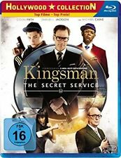 KINGSMAN, The Secret Service (Colin Firth, Samuel L. Jackson) Blu-ray Disc NEU