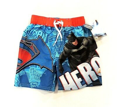 DC Comics Batman Vs Superman Dawn of Jutice Boardshorts Swim Trunks