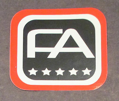 Stickers FreeAgent FA Free Agent BMX Bicycle BMX 2011 Front Tube Decal Sticker