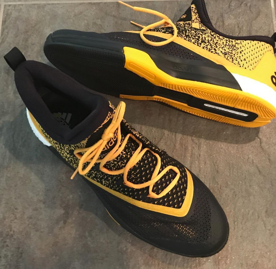 Adidas 17 Nuevo 195 Boost 2.5 Tobillo Baloncesto AllStar Amarillo Negro Tobillo 2.5 Zapatillas Zapatos ab410b