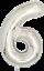 40-034-numero-gigante-foil-aria-elio-Glitz-grandi-PALLONCINI-Festa-Di-Compleanno-Matrimonio miniatura 47