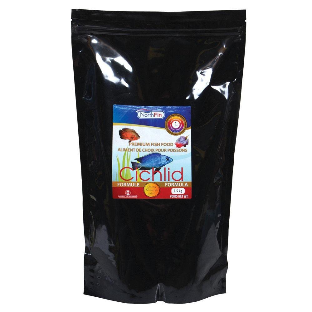 NORTHFIN CICHLID FORMULA FISH FOOD 2.5 KG GRAM BAG 1 mm PELLET   FREE SHIPPING