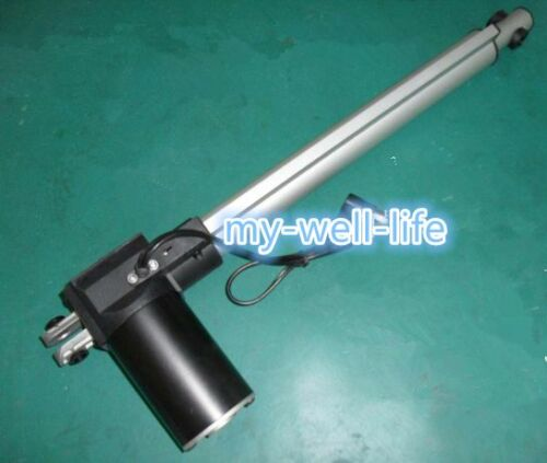 6000N 500mm stroke linear actuator max 1320LBS 20 inch 12V//24V DC max