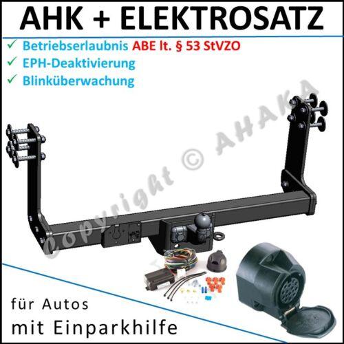 EPH-Abschaltung Einparkhilfe E-satz ES 13 AHK ES13 VW Crafter Fahrgestell 2006