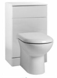 500x300 Btw Unit D Shaped Back To Wall Toilet Concealed
