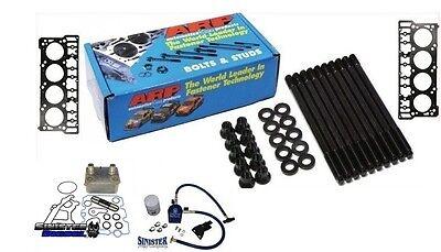 03-06 Ford Powerstroke 6.0L ARP Head Stud, Oil Cooler, Filtration & Head Gaskets