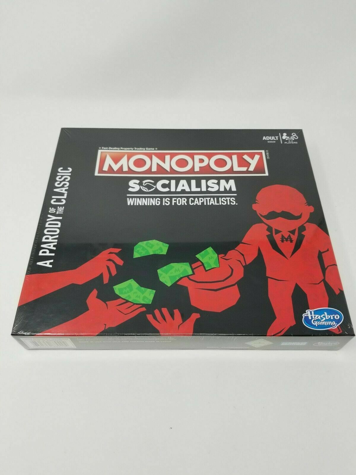 MONOPOLY SOCIALISM Winning Is For  Capitalists (nuovo) (SEALED) SOLD OUT IN He  l'ultimo
