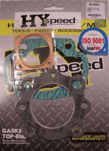 HYspeed Top End Head Gasket Kit Set Honda FL250 Odyssey 1977-1984