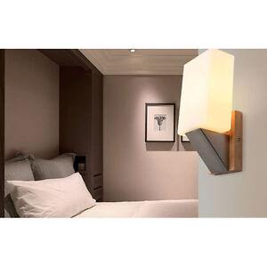 Modern Wall Lights Oak Solid Wood Bedroom Wall Lamp Corridor/Aisle Lights 6665HC eBay