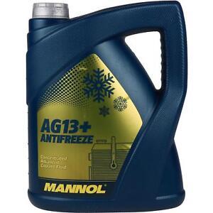 5-Liter-MANNOL-Kuehlerfrostschutz-Typ-G13-Antifreeze-Advanced-gelb-Konzentrat