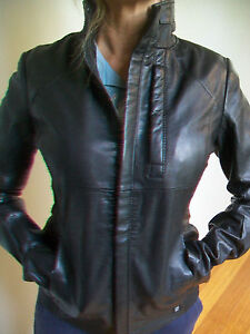 WOMENS-G-STAR-039-ROUGH-LEATHER-JACKET-039-WMN-RRP-800-BNWT-SIZE-M-L