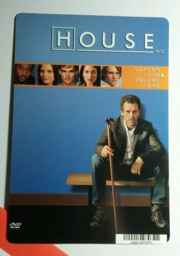 NOT a movie HUGH LAURIE BLUE SITTING TV MINI POSTER BACKER CARD HOUSE M.D