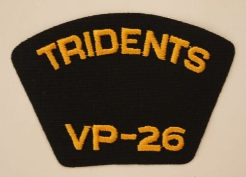 26 GOLD patch patches USN US Navy USA Military NEW Tridents VP