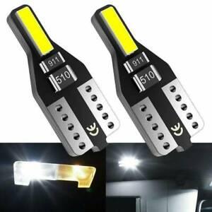 10X-LED-T10-501-194-W5W-7020SMD-Car-CANBUS-Error-Free-Wedge-Light-Bulb-White-new